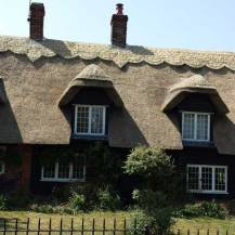Reed re-thatch - after
